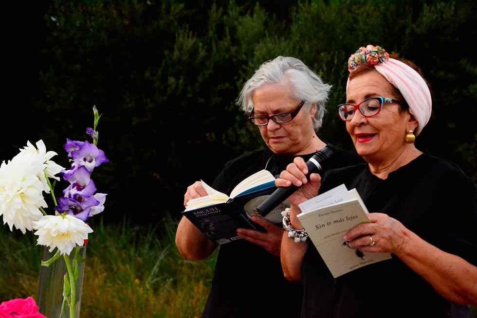 Éxito del primer festival de Poesía junto al Río