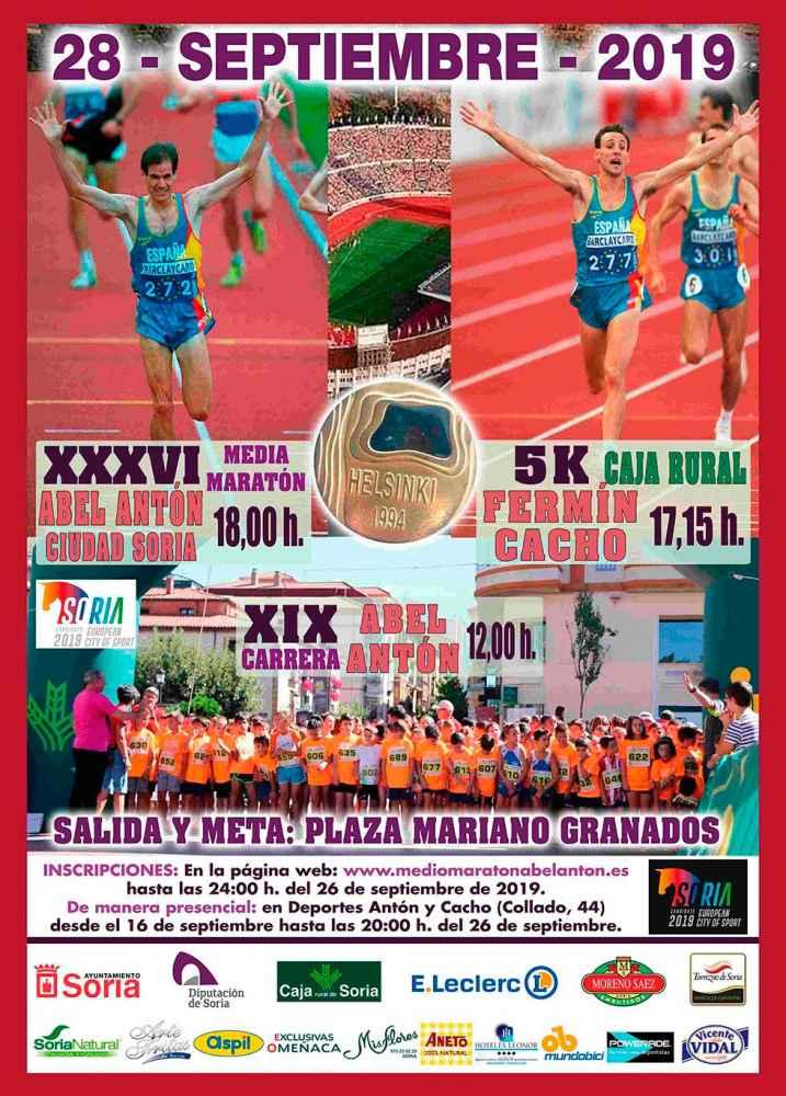 Inscripciones para la Media Maratón Abel Antón y la 5K Fermín Cacho