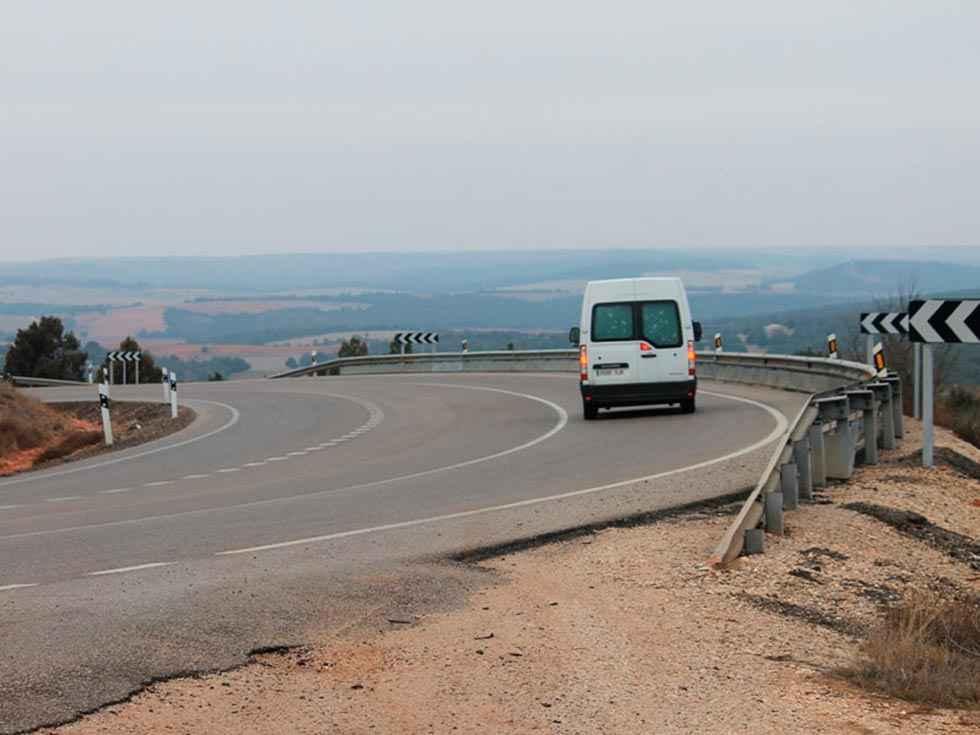 Dos octogenarios realizarán a pie la marcha lenta Soria-Aranda