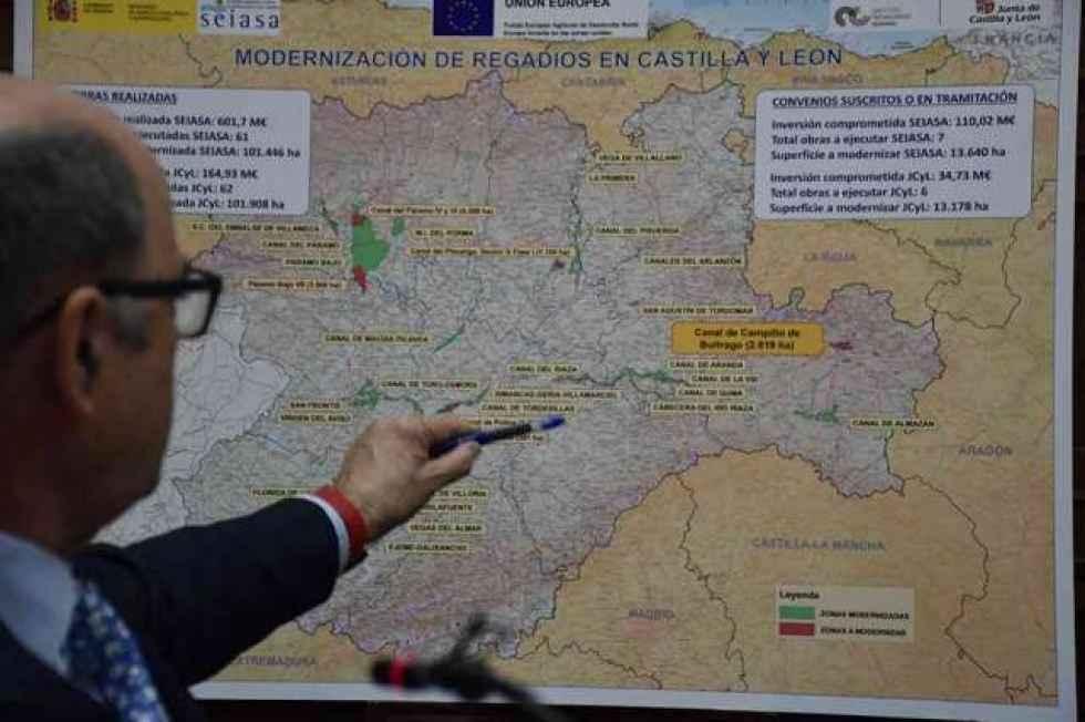 La modernización del regadío del Campillo de Buitrago, adelante