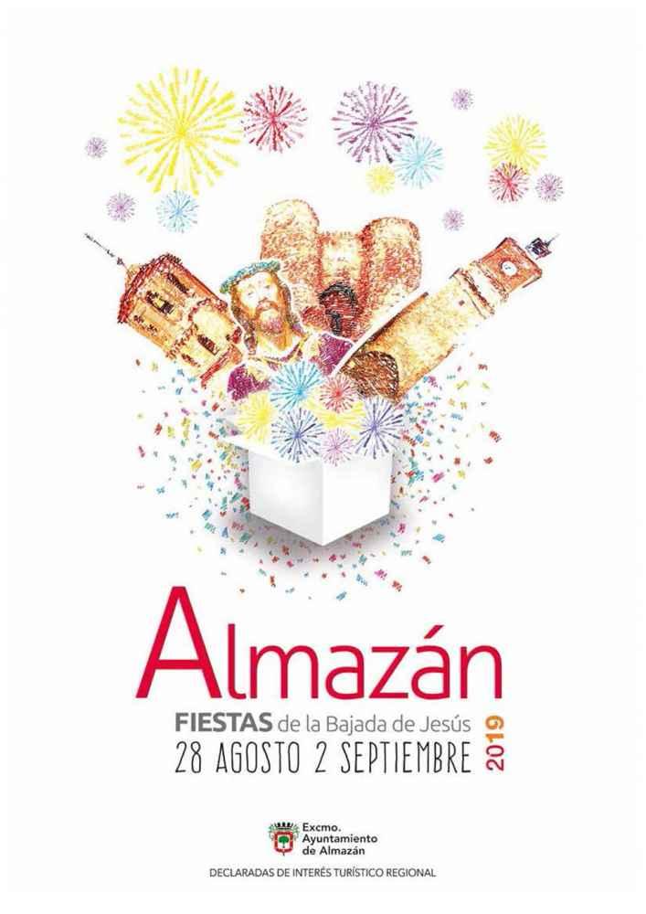 Programa oficial de las fiestas patronales de Almazán