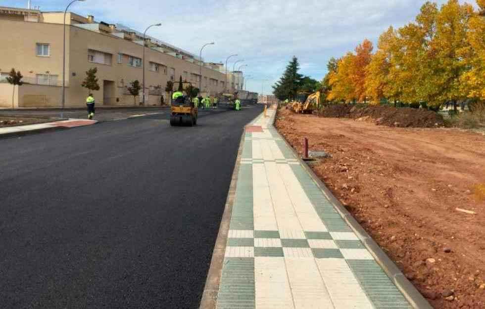 Construcciones Beltrán completa campaña de asfaltado que Asfagal no ejecutó
