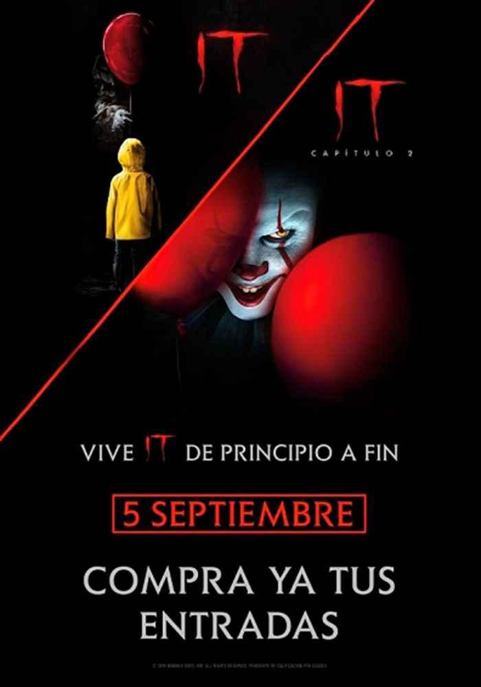 Maratón con el estreno de IT Capítulo 2 en Cines Lara