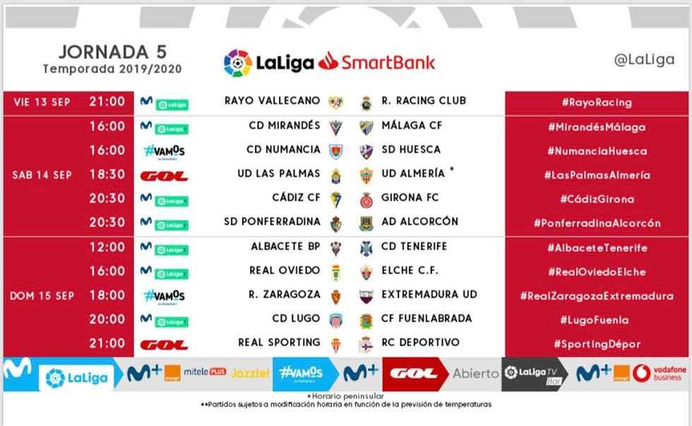 El Numancia recibirá al Huesca el sábado 14 de septiembre