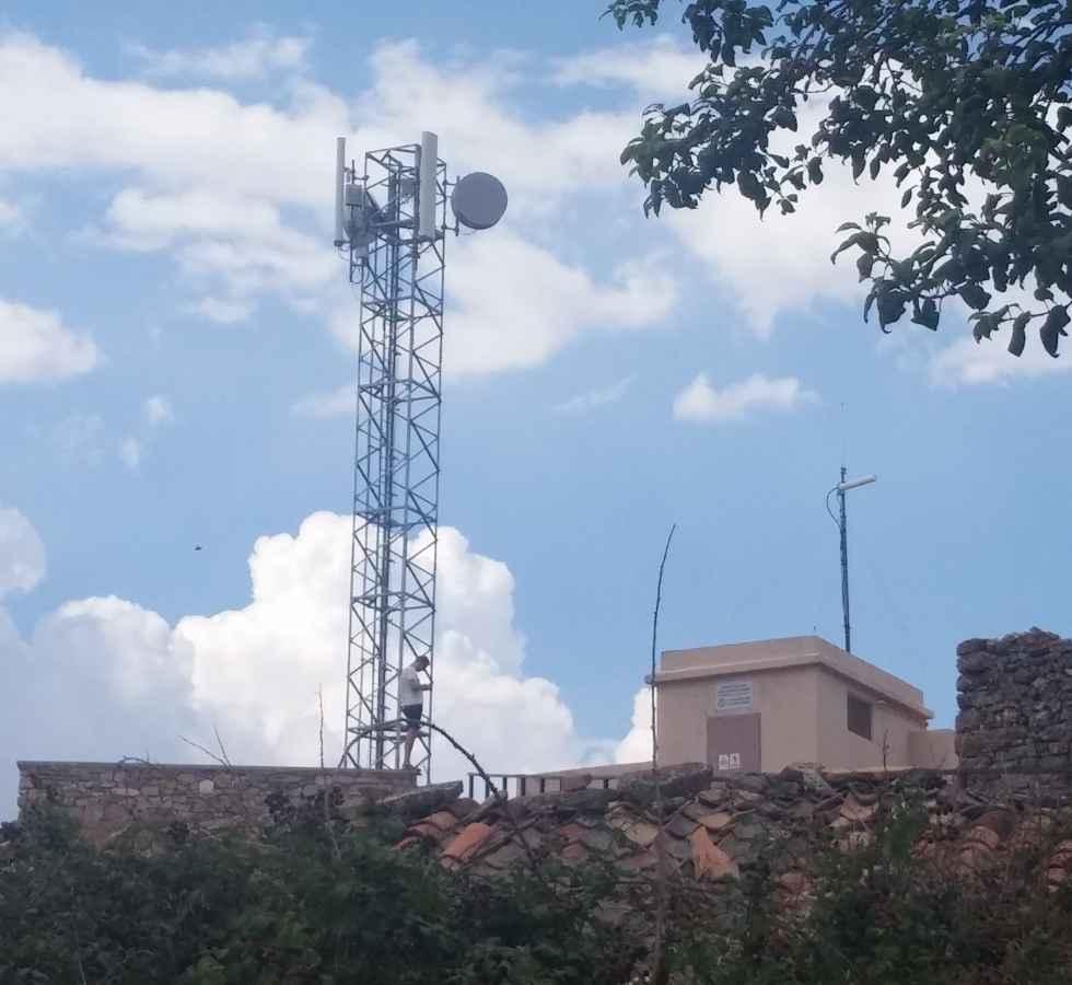 Barahona: más de una semana sin telefonía fija