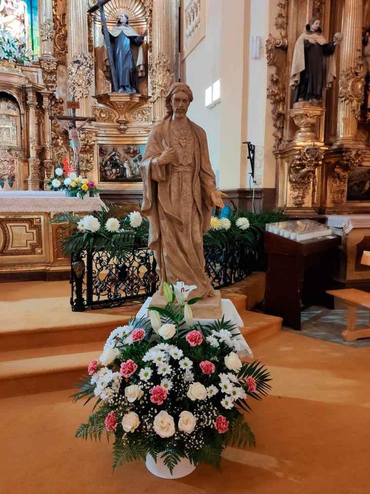 Consagración de El Burgo de Osma al Sagrado Corazón de Jesús