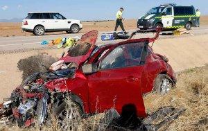 Accidente mortal en la N-234, en Torrubia de Soria