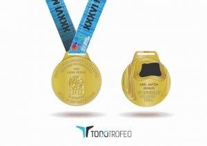 Una medalla especial para la media maratón Abel Antón