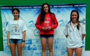 Mediavilla, campeona regional cadete de triatlón cross