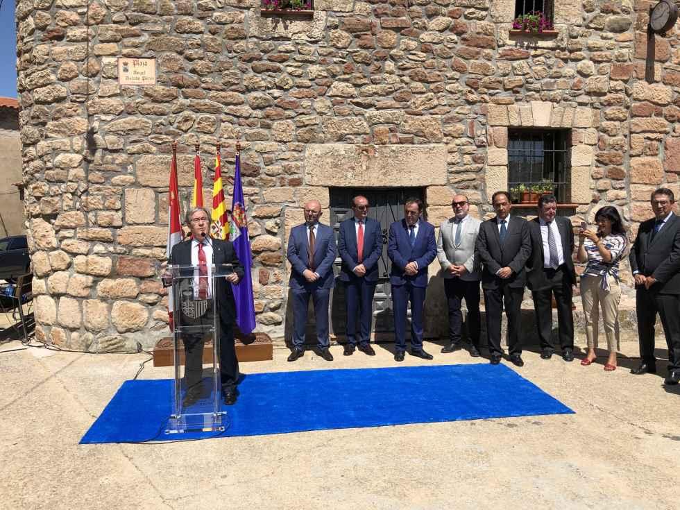 Discurso del Justicia de Aragón en Mezquetillas