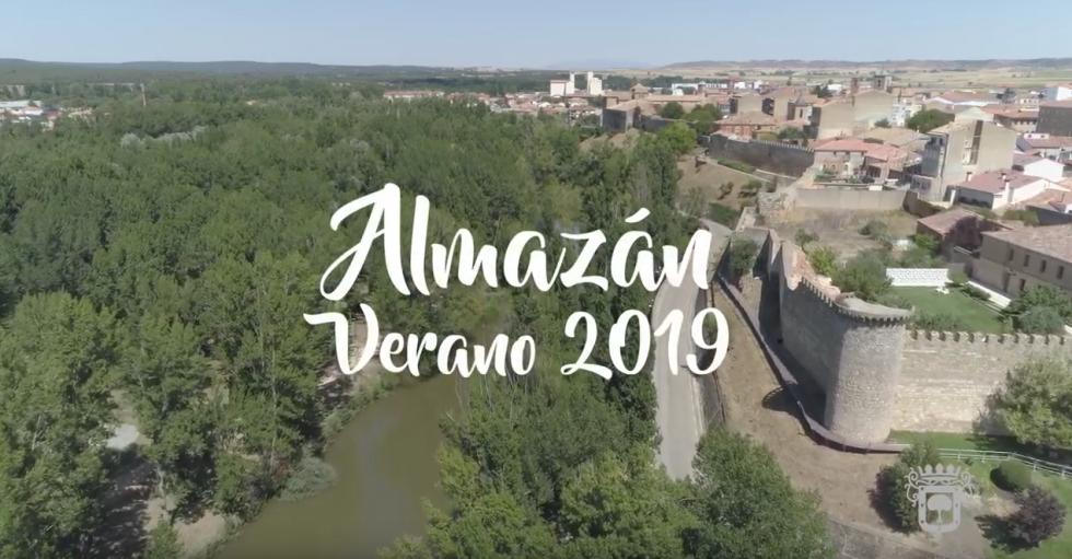 Almazán edita video sobre su verano
