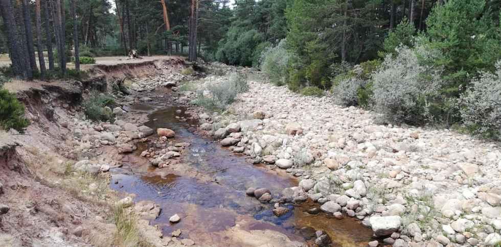 Con septiembre, llegan las primeras heladas a Duruelo de la Sierra