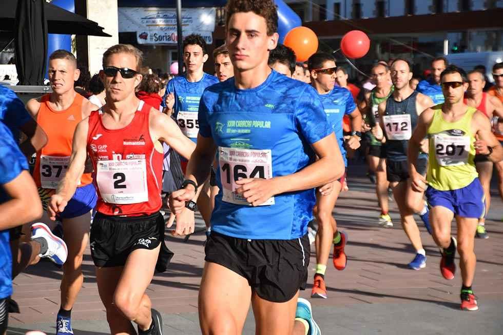 Clasificaciones de la XXVI Carrera popular Soria-Valonsadero