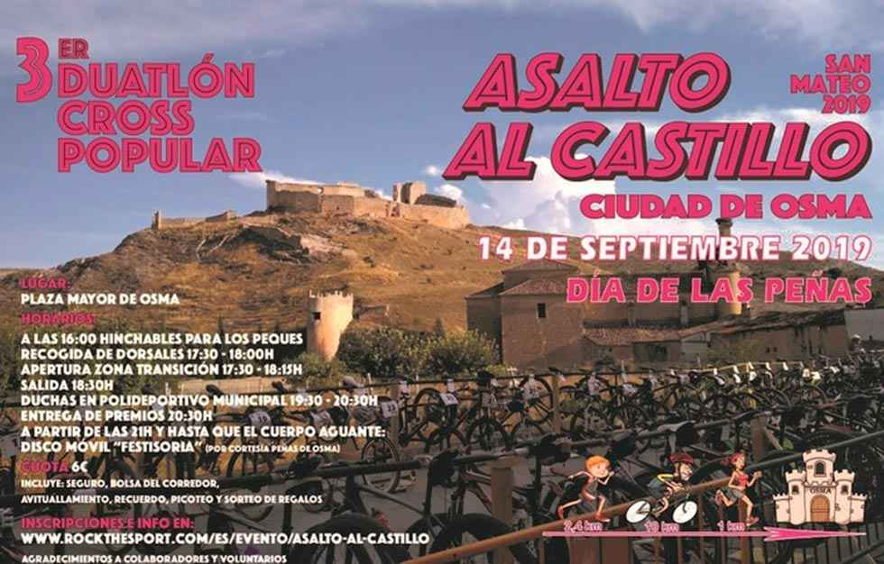 "Tercer duatlón cross popular ""Asalto al Castillo"""