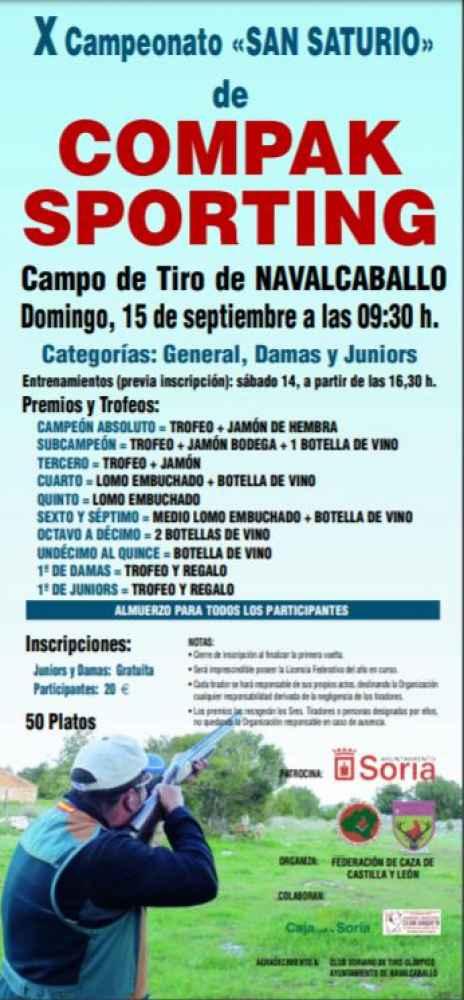 X edición del Campeonato San Saturio de Compak Sporting