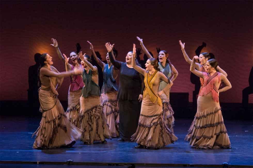 Reflexión coreográfica sobre el mito de Carmen