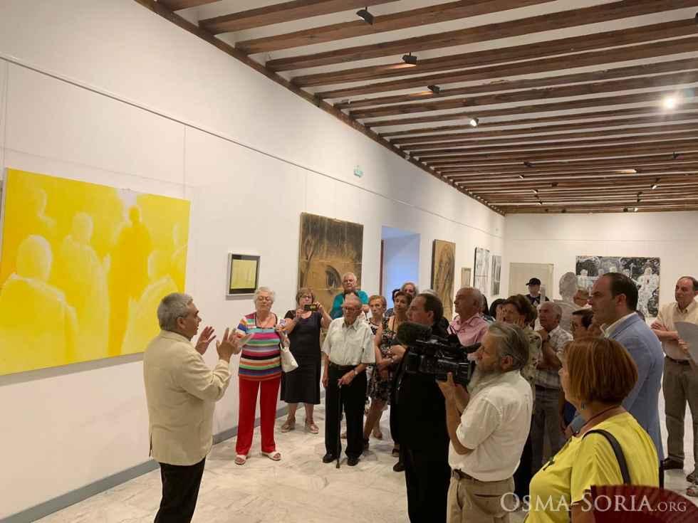 "Prorrogada la exposición ""Eclesia"", de Vicente Molina"