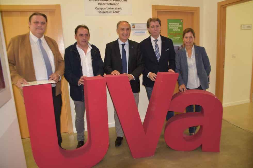 Sintonia institucional para poner en marcha nueva titulación en Soria