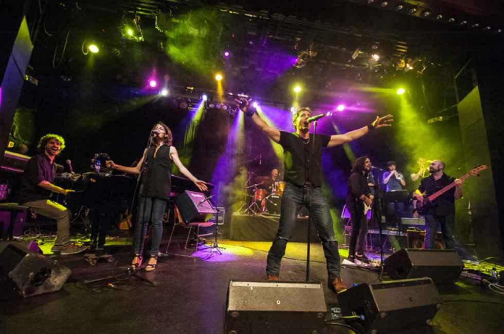 Tributo de Manel Fuentes a Bruce Springsteen en San Saturio