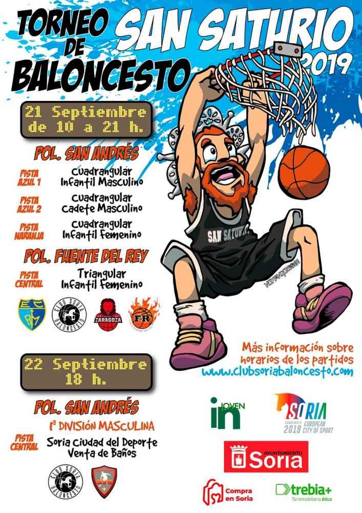 Campaña de abonados del CSB y torneo de San Saturio