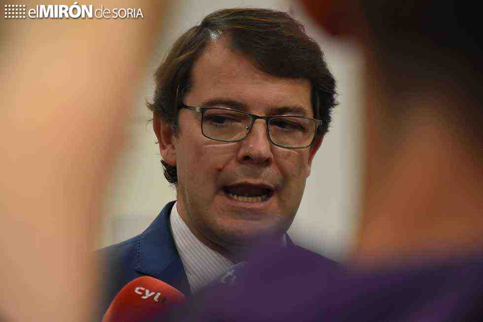 Mañueco responsabiliza a Pedro Sánchez de la situación política
