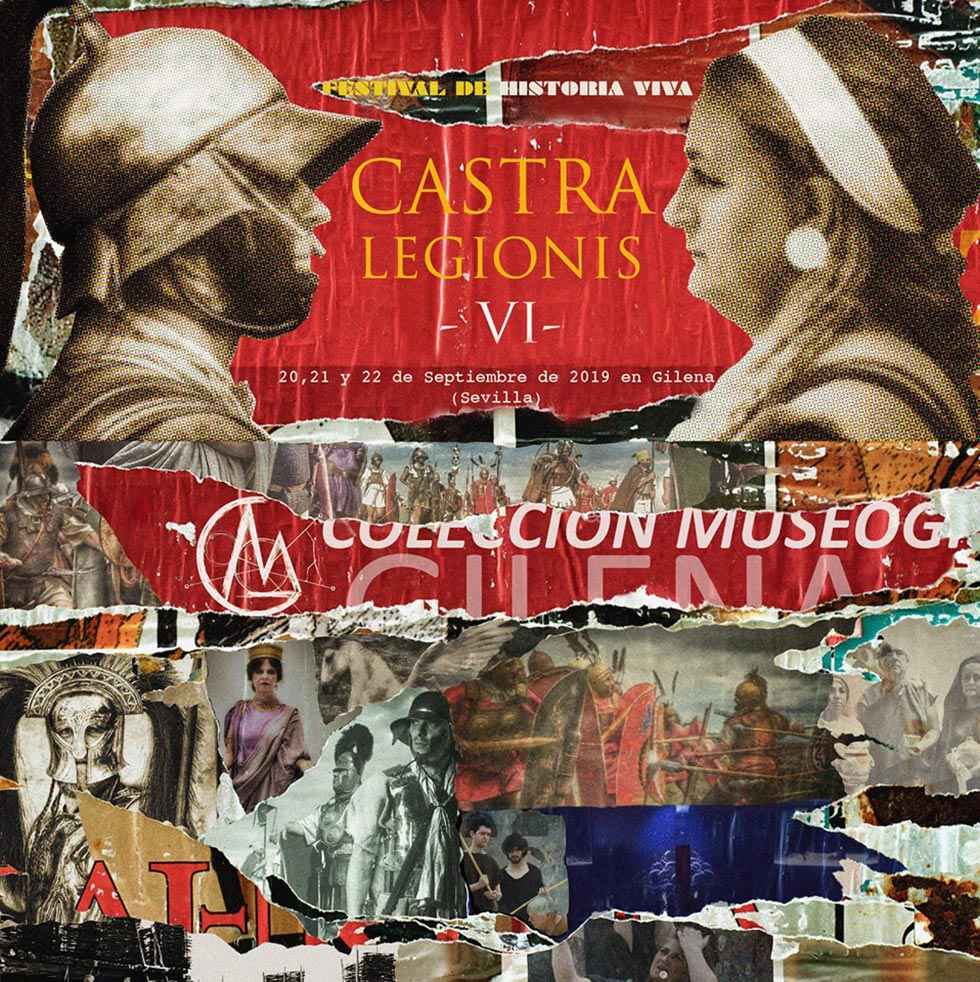"""Tierraquemada participa en festival """"Castra Legionis"""", en Sevilla"""
