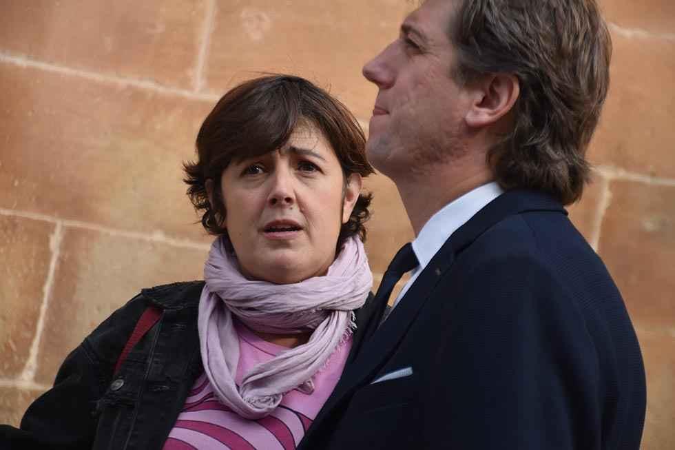 La peatonalización se abre paso en el entorno del Palacio Condes de Gómara