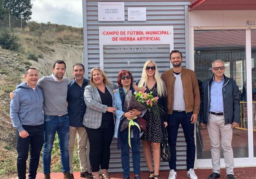 """Inaugurado el campo de hierba artificial """"José Ándres Diago"""""""