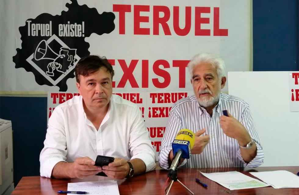 Teruel Existe da el paso y pide avales  para presentarse a las elecciones