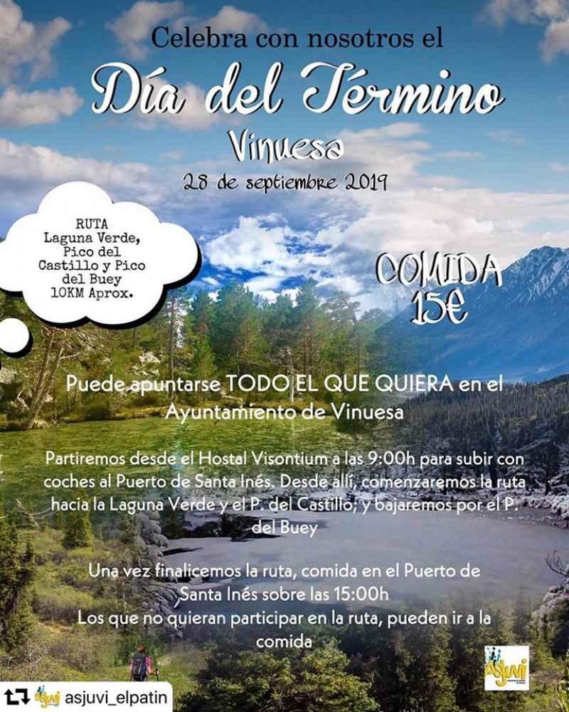 """Vinuesa celebra el """"Día del Término"""""""