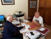 Firmado el contrato para intervenir en la iglesia de San Pedro