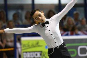 Héctor Díez, campeón de Europa juvenil de patinaje artístico