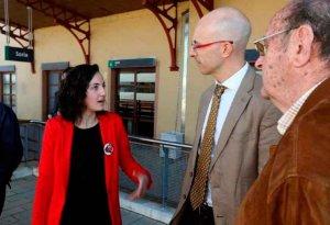 Cs pregunta al Gobierno por el estado de la línea Soria-Torralba