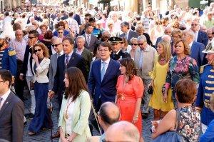 Mañueco se reúne con el presidente de las Cortes regionales
