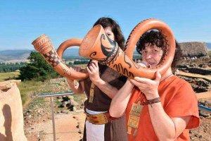 Nueva jornada de ambientación y reconstrucción en Numancia