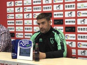 """Carrión: """"Habrá que estar al 100 por ciento frente al Huesca"""""""