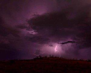 Noche de rayos en Soria - fotos
