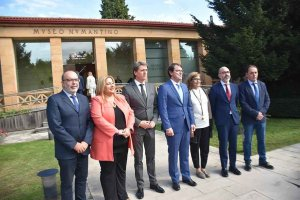 Exposición del centenario del Museo Numantino - fotos