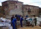 Nueva hacendera en Sarnago para seguir recuperando el pueblo