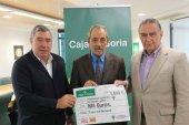 Caja Rural entrega recaudación de caldereta solidaria