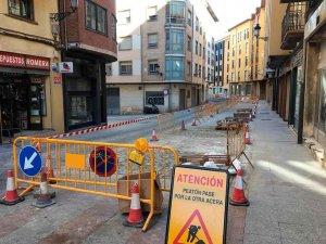 El PP se opone a seguir adoquinando las calles de la ciudad