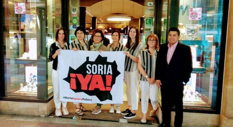 FOES secunda el paro convocado por Soria ¡Ya!