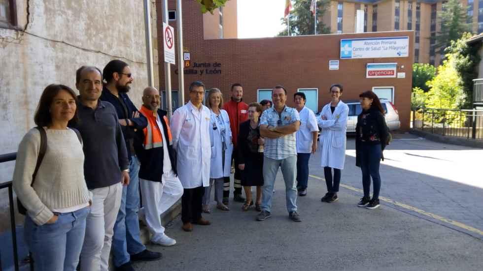 Paro en silencio para clamar por soluciones para la España vaciada