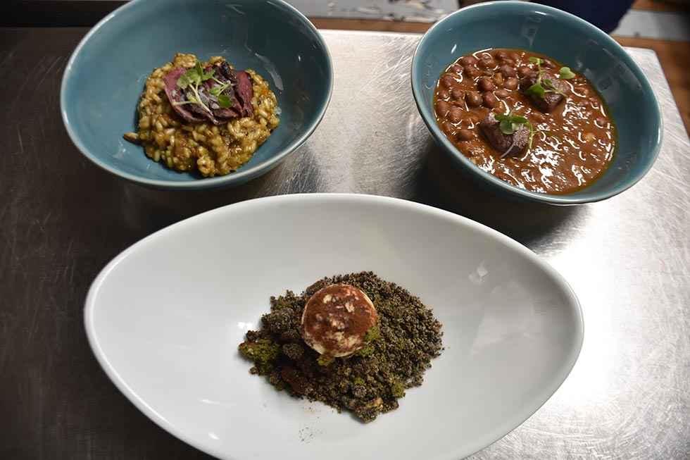Primeras jornadas gastronómicas micológicas en Palacio de Alcubilla