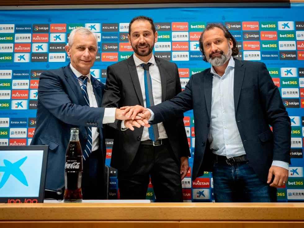Machín, presentado como nuevo entrenador del Español