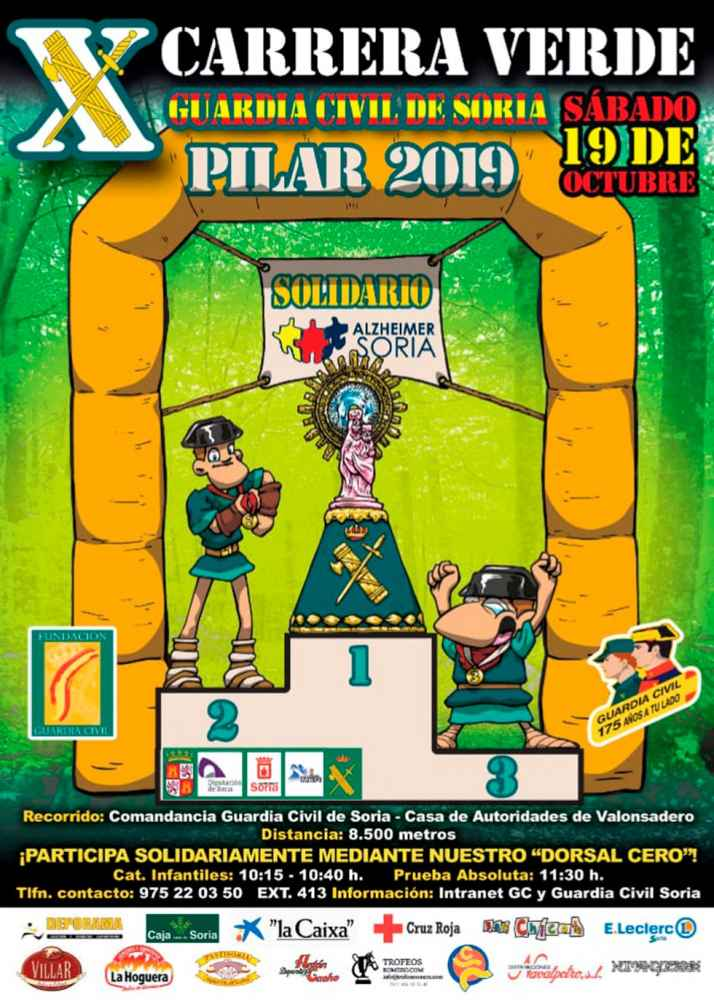 IX edición de la Carrera Popular Verde, Soria-Valonsadero