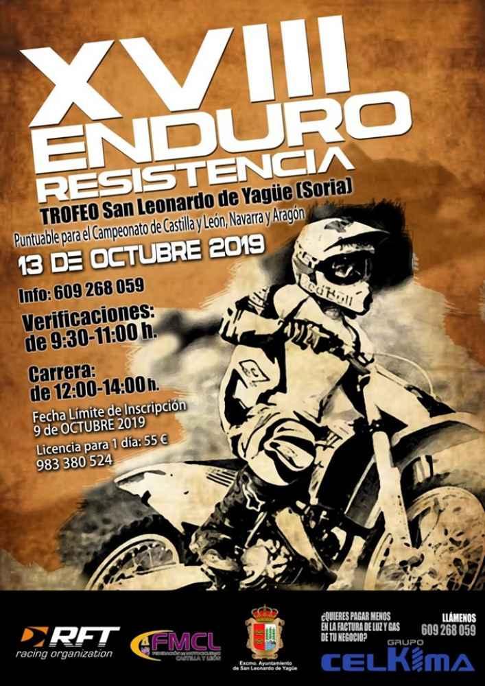 San Leonardo de Yague celebra el XVIII Enduro Resistencia