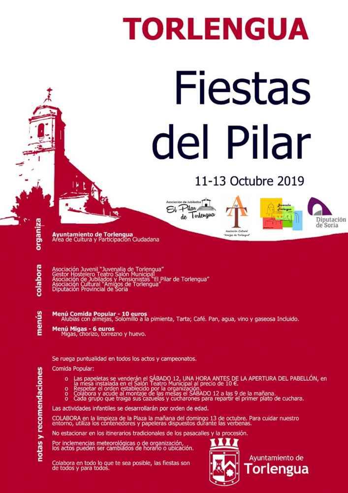 Torlengua celebra sus fiestas del Pilar