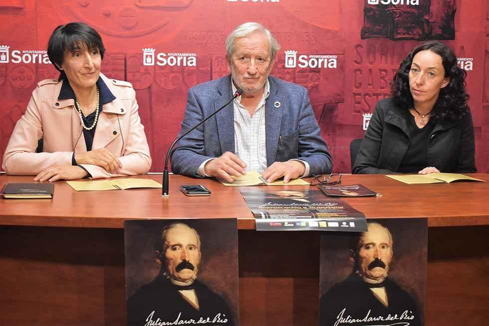 Soria homenajea a Julián Sanz del Río, el fundador del krausismo