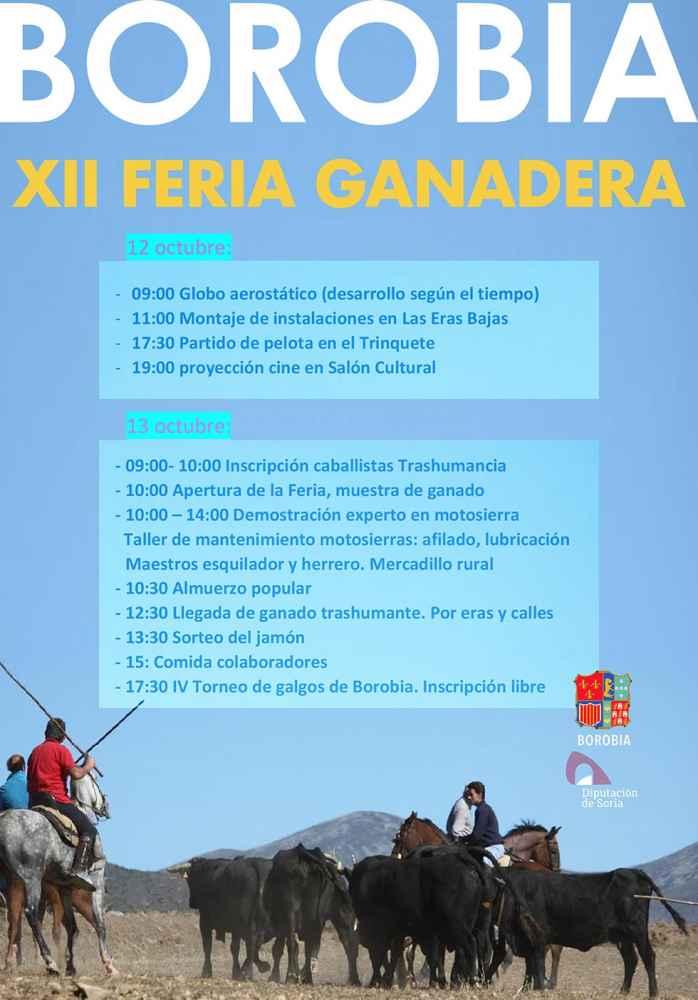 Borobia celebra su XII Feria Ganadera
